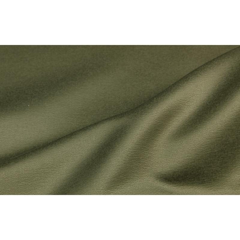 Сатен фактурный арт. SL17637DZ-26 хакки зелено-коричневый