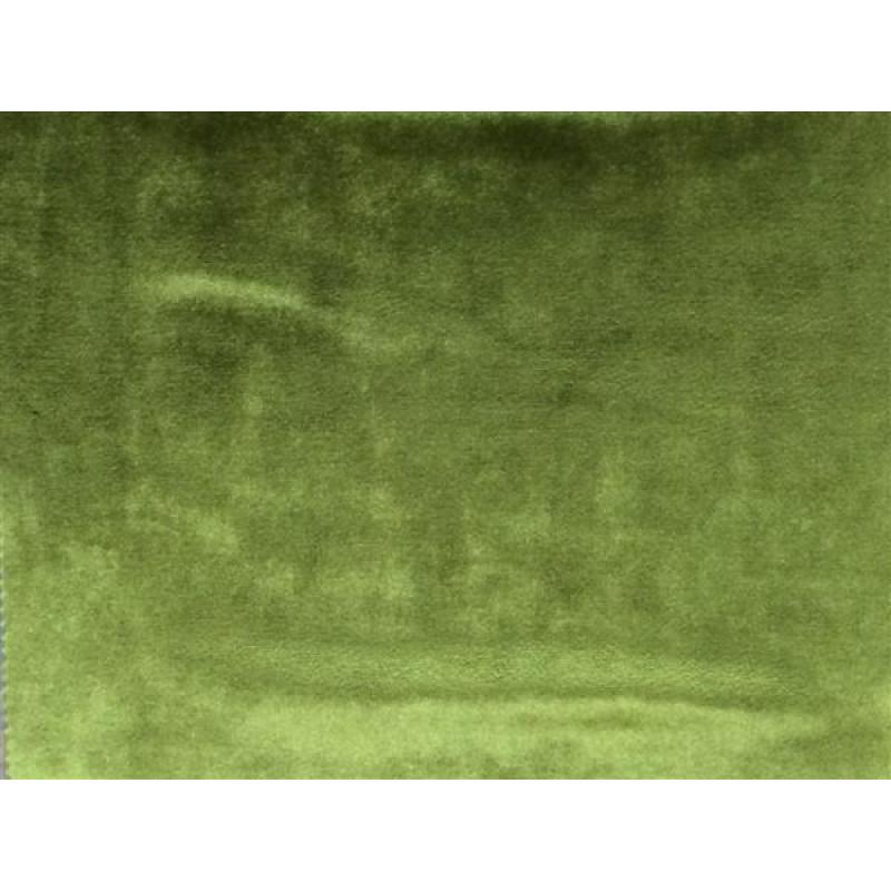 Бархат «Императорский» однотонный арт. 12 390-21 зеленый