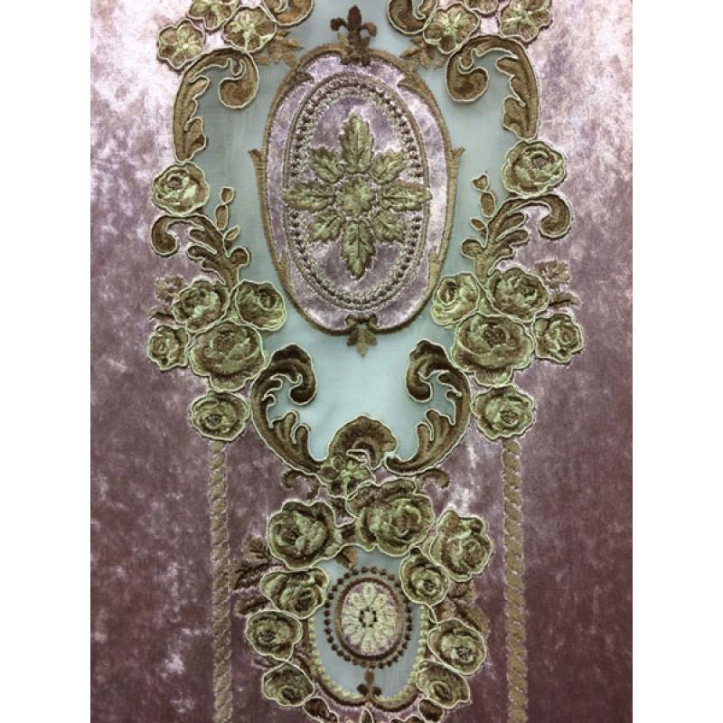 Мраморный бархат «Камелия» арт. 011711101-06 розовый