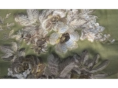 Бархат «Парадиз Гарден» арт. 011712105-22 оливковый