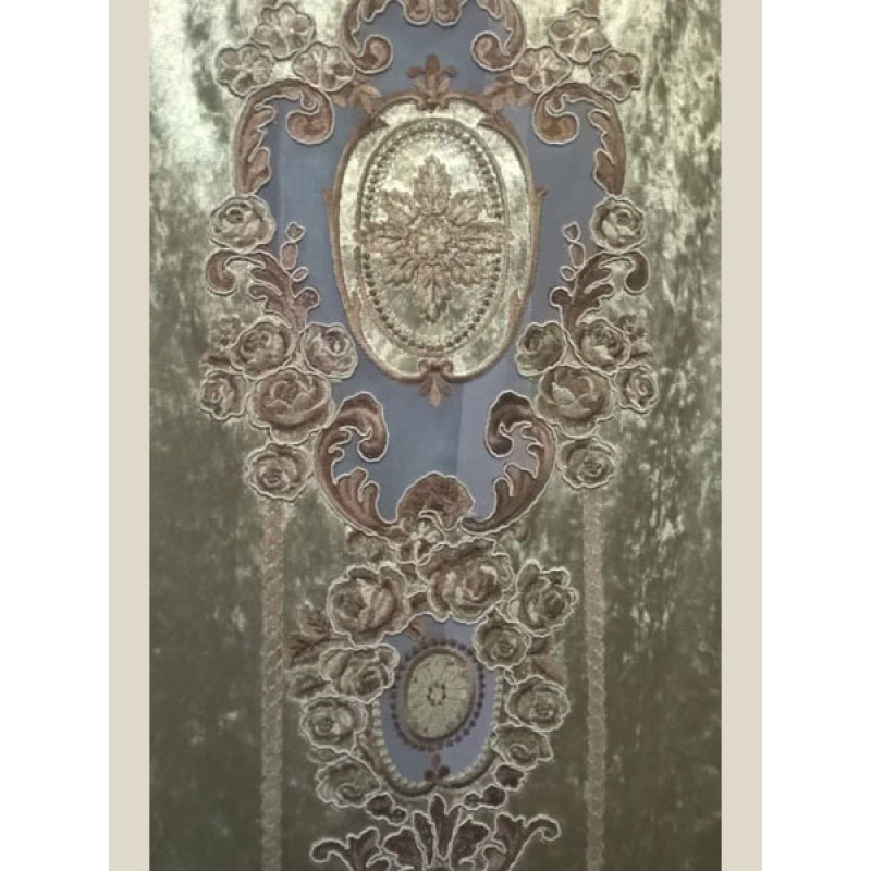 Мраморный бархат «Камелия» арт. 011711101-15 оливковый