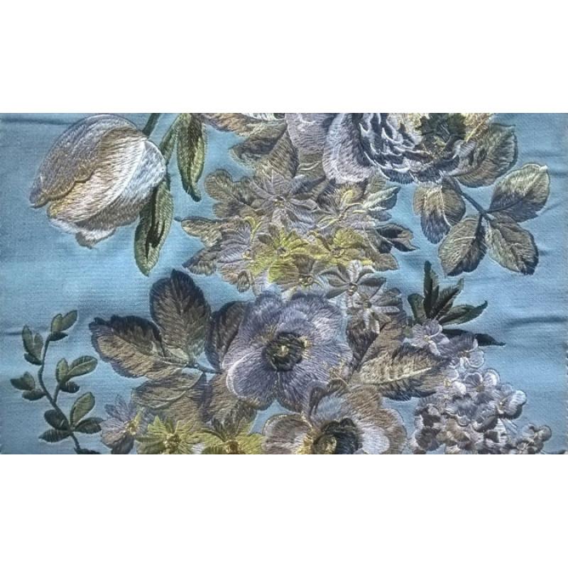 Бархат «Парадиз Гарден» арт. 011712105-32 голубой
