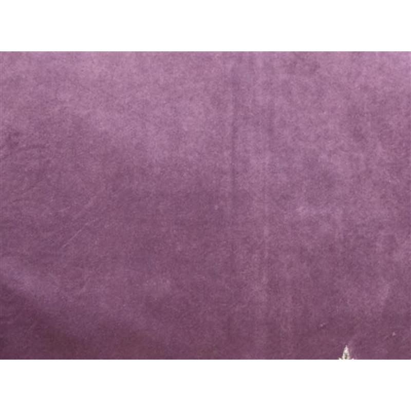 Бархат «Императорский» однотонный арт. 12 390-26 сиреневый