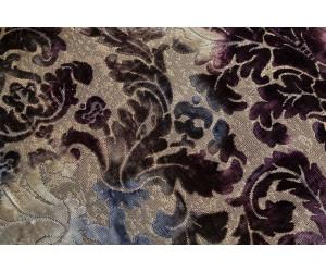 Бархат «Ноблесс» с рисунком арт. NB 150977A-4 сине-фиолетовый