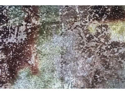 Бархат «Ноблесс» с рисунком арт. NB 150977D-2 коричневый