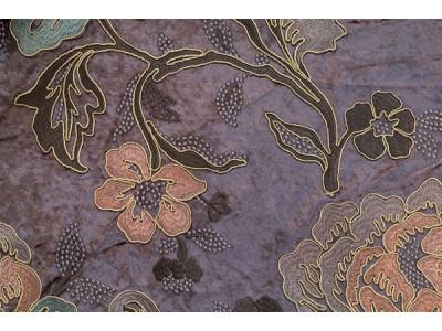 Бархат с вышивкой «Бьюти» светло-фиолетовый арт. J 151010C-2