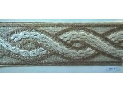 Бордюр для штор арт. 1113-2 темно-бежевый