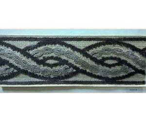 Бордюр для штор арт. 1113-3 серый