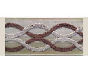 Бордюр для штор арт. 1111-2 коричневый
