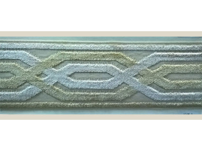 Бордюр для штор арт. 1109-1 бежевый