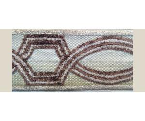 Бордюр для штор арт. 1112-2 коричневый