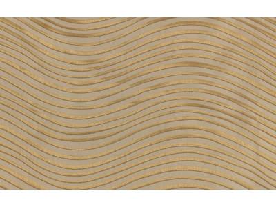 """Ткань портьерная """"Коражио"""" волна арт. SL181023-2 бежевый с золотым"""