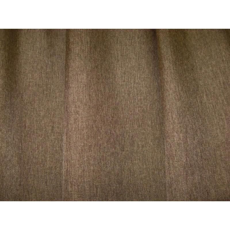 Портьера «Лён» арт. НХ001161-8 светло-коричневый
