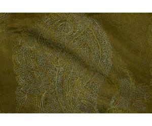 Органза Фэнтези Восточный стиль арт. PTS 6803-4 органза оливковая, вышивка голубая