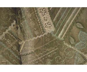 Органза Фэнтези Стиль «Кантри» арт. PTS 7513-6 органза светло-коричневая, вышивка цветная