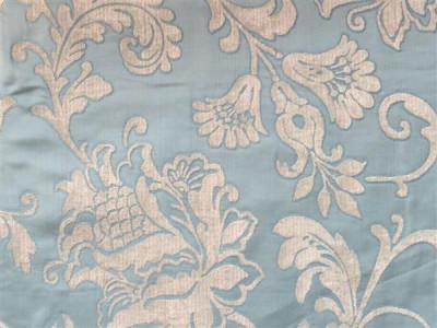 Жаккардовый шенилл Версаль арт. 6502-3 бирюзовый