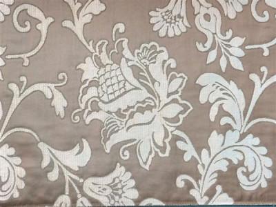 Жаккардовый шенилл Версаль арт. 6502-7 светло-коричневый