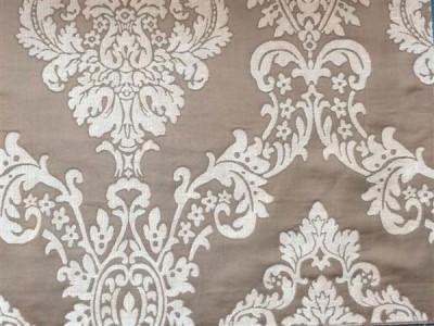 Жаккардовый шенилл Версаль арт. 6501-7 светло-коричневый