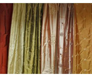 Коллекция ткани из натурального и искусственного шёлка