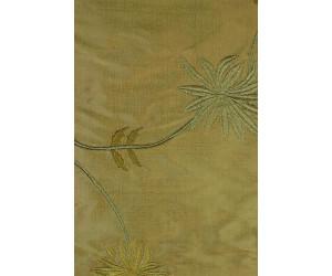 Натуральный шёлк с вышивкой арт. JS 602-15 хакки