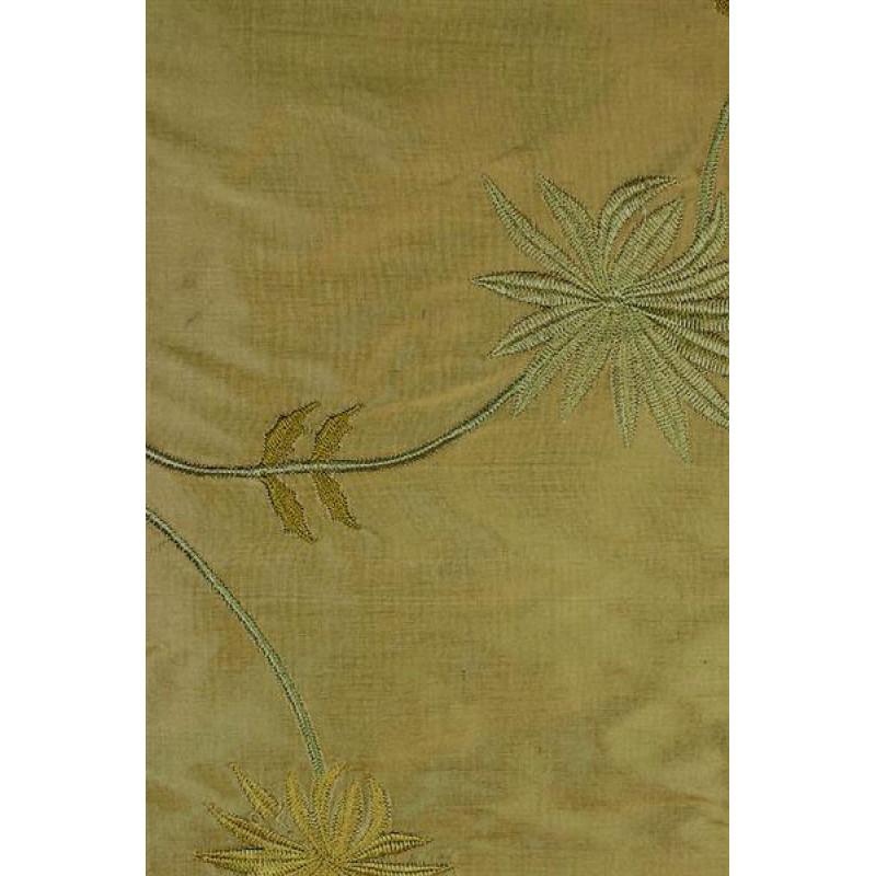 Натуральный шёлк с вышивкой арт. JS 602-15