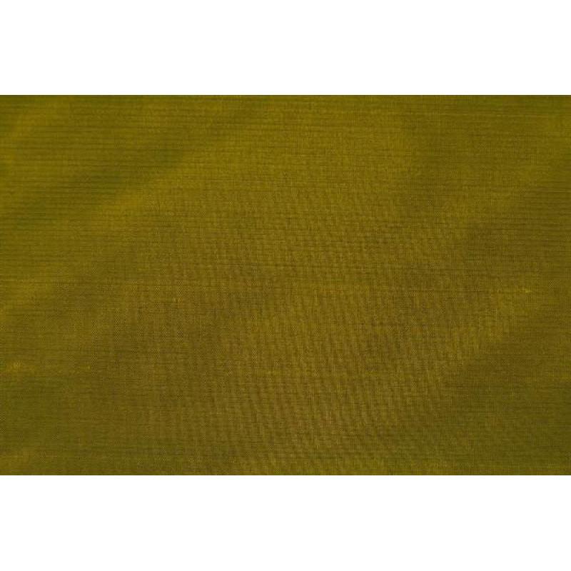 Натуральный шёлк однотонный арт. JS 320-17 зеленый