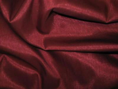 Искусственный шёлк однотонный арт. А-6 бордовый