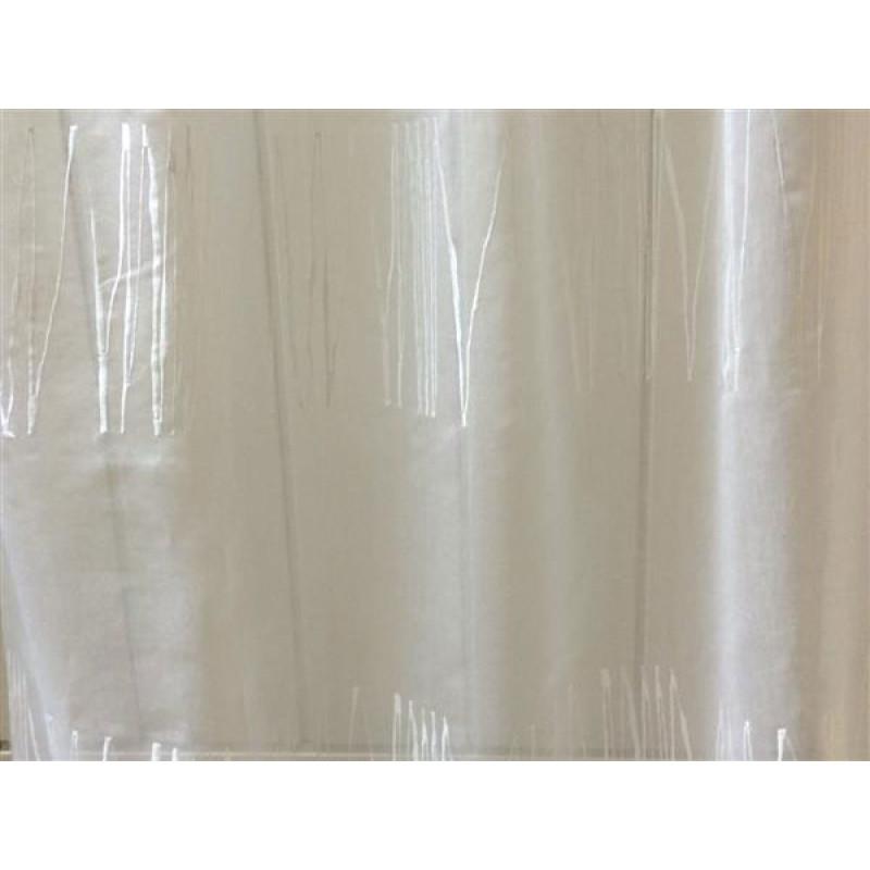Тюль «Тонкий лён» арт. DS00214-1 молочный