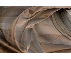 Тюль сетка лазерная без утяжелителя арт. НХ002143-5 бронзовый