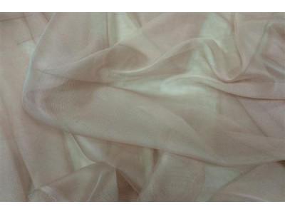 Тюль сетка лазерная без утяжелителя арт. НХ002143-8 пыльно-розовый