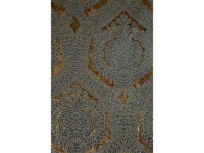 Велюр с термопечатью арт. CP 7816 P-49 серо-бежевый