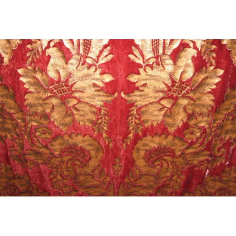 Велюр с термопечатью арт. СР 7815Е-18 темно-розовый
